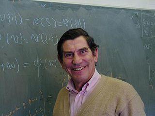 Jean-François Mertens Belgian game theorist