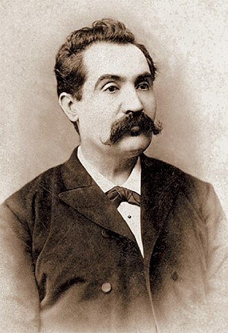 Mihai Eminescu - Last photo of Eminescu taken by Jean Bieling in 1887–1888