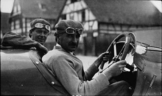 Jean Chassagne - Jean Chassagne at the 1922 French Grand Prix