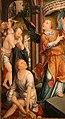 Jean bellegambe, trittico della piscina mistica, 1500-30 ca. 02.jpg