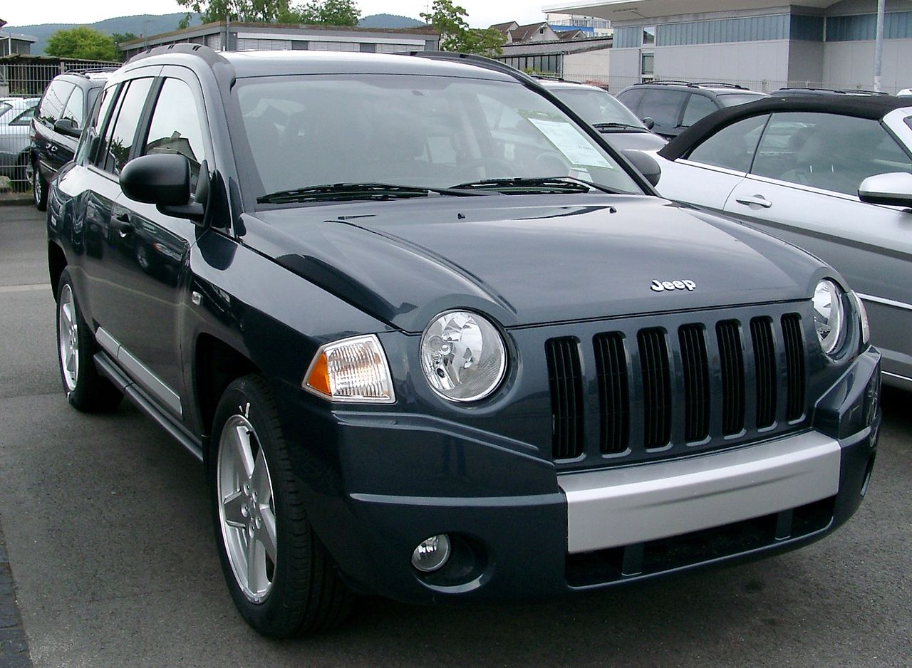 file jeep compass limited front wikimedia commons. Black Bedroom Furniture Sets. Home Design Ideas
