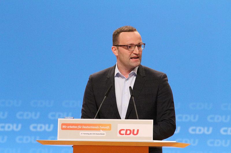 File:Jens Spahn CDU Parteitag 2014 by Olaf Kosinsky-20.jpg