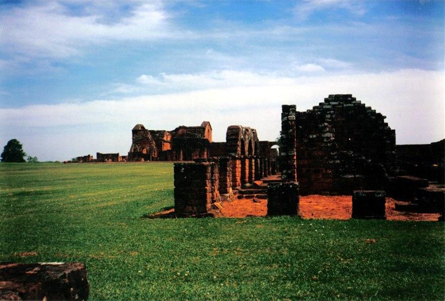 Jesuit ruins at trinidad