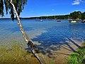 Jezioro Wdzydze, to był piękny i słoneczny dzień w Borsku.jpg