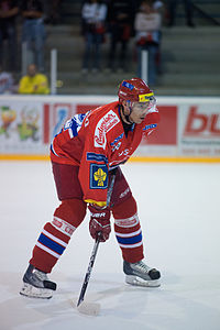 Jiří Šimánek - Lausanne Hockey Club vs. HC České Budějovice, 27.08.2010.jpg