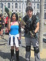 Jill Valentine & Chris Redfield cosplayers at 2010 NCCBF 2010-04-18.JPG