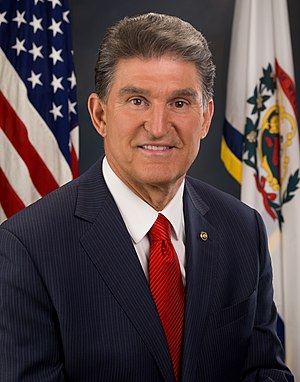 English: Official portrait of Senator Joe Manc...