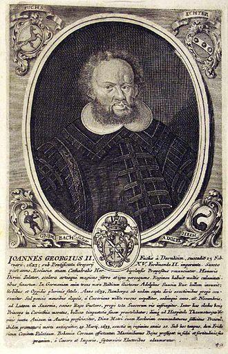 Wiesentheid - Johann Georg Fuchs von Dornheim