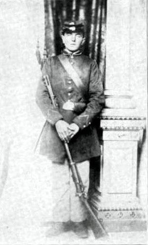 26th Wisconsin Volunteer Infantry Regiment - John Haag, Company B, 26th Wisconsin Volunteer Infantry, discharged on February 17, 1863, for disability.