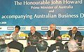 John Howard and the Union Minister for Commerce and Industry, Shri Kamal Nath at the Australia-India Business Luncheon, jointly organised by CII, FICCI and ASSOCHAM, in New Delhi on March 6, 2006.jpg