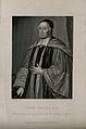 John Wallis. Stipple engraving by R. Cooper, 1825, after Der Wellcome V0006136.jpg