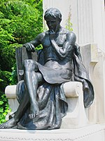 Johns Hopkins Monument, Johns Hopkins Universi...