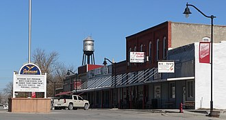 Johnson, Nebraska - Downtown Johnson: 2nd and Main