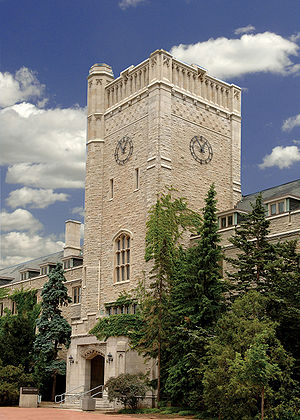 University of Guelph - The Johnston Clock Tower at the main campus