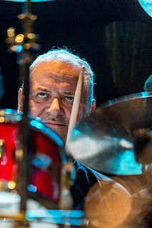 Jon Hiseman English drummer and sound engineer