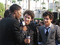 Jonas Brothers on the Red Carpet @ 2008 MTV Video Music Awards.jpg