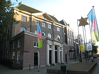 History museum in Amsterdam, Netherlands