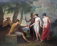 Joseph Hauber Das Urteil d Paris (1)