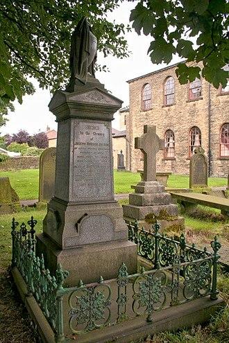 Joseph Jagger - Jagger family grave at Bethel Chapel, Shelf.