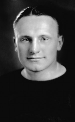 Joseph Truskowski - Truskowski, captain of 1929 Michigan football team