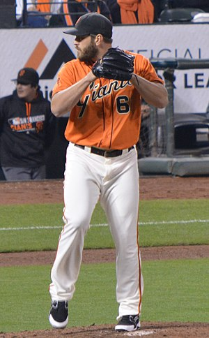 Josh Osich - Osich with the San Francisco Giants in 2016