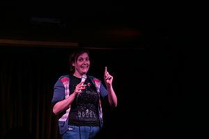 Josie Long - Josie Long performing at Lost Treasures of the Black Heart in September 2013
