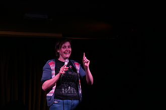 Josie Long - Josie Long performing at Lost Treasures of the Black Heart in September 2013