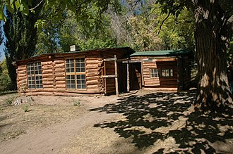 National Register of Historic Places listings in Dinosaur National Monument - Image: Josie Morris Cabin
