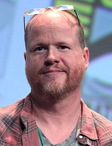 Joss Whedon - the cool, friendly, talented,  director, writer,   with Scottish, English,  roots in 2017