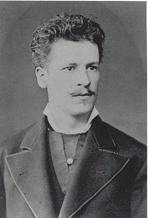 Julius Neubronner - Julius Neubronner 1877 while studying in Gießen