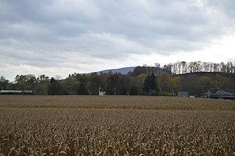 Porter Township, Huntingdon County, Pennsylvania - Fields east of Alexandria