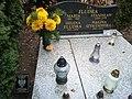 Junikowo Cemetery, Poznan, tomb (Stanislaw Fludra, powstaniec).jpg