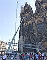 Kölner Dom - Abbau südöstliches Gerüst Nordturm-3006.jpg