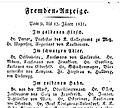 Königlich Bayerischer Polizey-Anzeiger von München, Nro. 7-1831, 23. Januar 1831, S. 49 oben.jpg