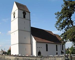 Kœstlach - Image: Kœstlach, Eglise Saint Léger 2