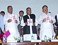 K. Rahman Khan and the Chief Minister of Karnataka, Shri Siddaramaiah at the inauguration of Southern Regional Conference of NGO's organised by Ministry of Minority Affairs, at Bangalore on December 21, 2013 (1).jpg