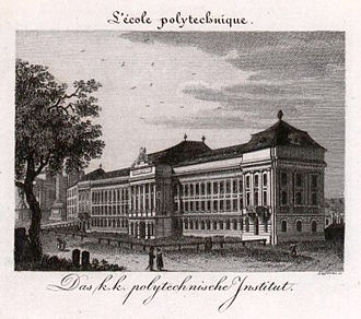 TU Wien - Imperial and Royal Polytechnic Institute (now TU Wien) in 1823