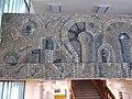 K building. Corridor's mosaic (L). - 33 Villányi út, Budapest.JPG
