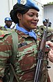 Kalemie, Province of Tanganyika, DR Congo Medal ceremony for 450 peacekeepers of Benin including 21 women (31835427553) (cropped).jpg