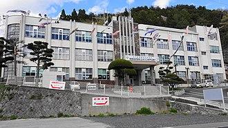 Kamaishi, Iwate - Kamaishi City Hall, May 2013