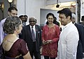 Kamal Hasan and Gautami at IAA Diamond Jubilee Celebrations 03.jpg