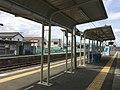 Kami-Sugaya Station platforms April 29 2019 1pm.jpeg