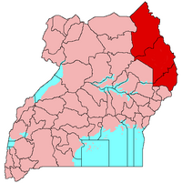 Map of Karamoja