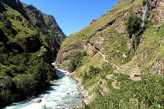 Ghaghara - Karnali River in Nepal