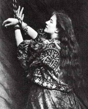 Kate Terry - Terry as Andromeda, photographed by Lewis Carroll in 1865