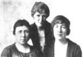 Kate C. Booth, Bessie L. Eisenberg, Lily Byron Gill 1920.png