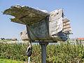 Kazemattenmuseum - Staartdeel Lockheed Hudson wrak.jpg