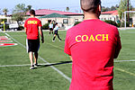 Keeping the ball in their court, Marine coaches teach kids sports, values 121103-M-OB827-069.jpg