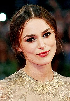 Keira Knightley English actress