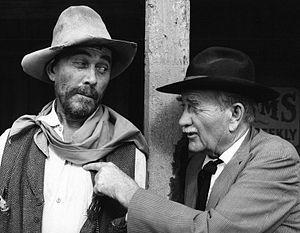 Milburn Stone - With Ken Curtis, 1974